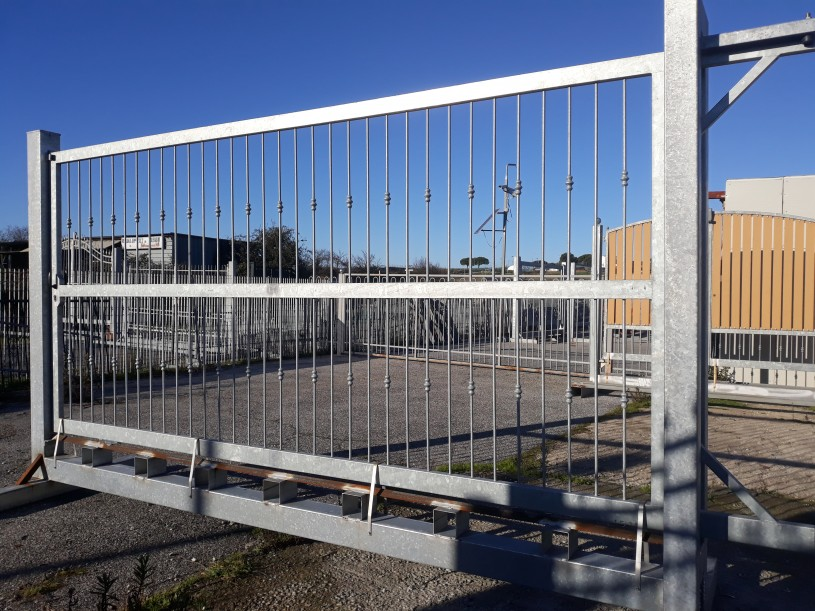cancello scorrevole roma semplice