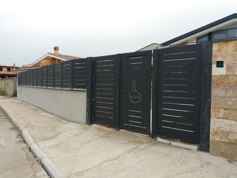 recinzioni modulare a taglio orizzontale
