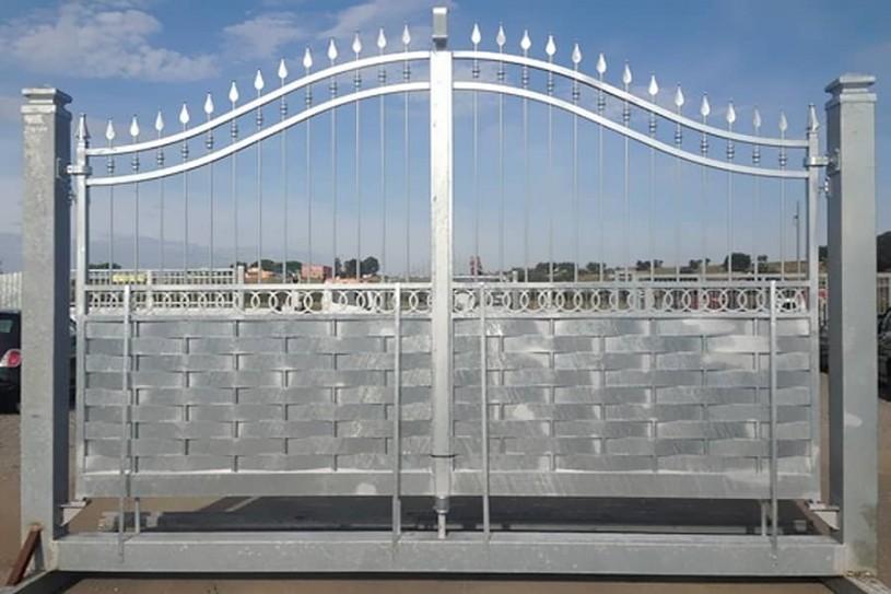 Cancello ISCHIA con centina