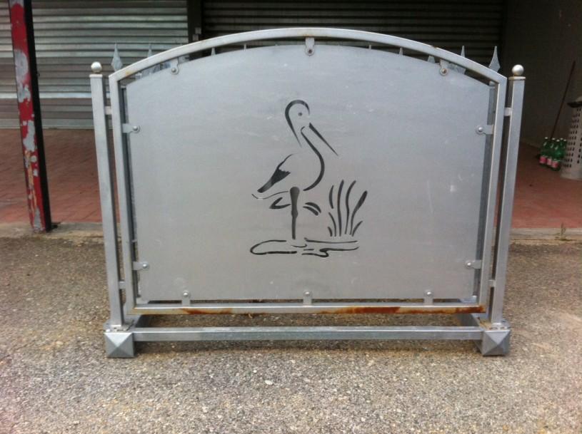 recinzione mod cigno centinata