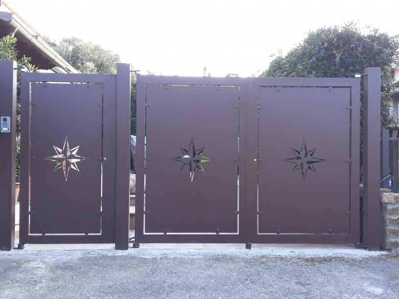 cancello rosa dei venti