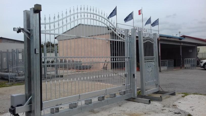 cancello piave notorizzato faac scorrevol